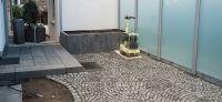 14_gartenplanung_gartengestaltung_wegebau_segmentboegen_hochbeet_blaustein_sichtschutz_glaswand